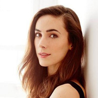 Actor Geraldine Hakewill